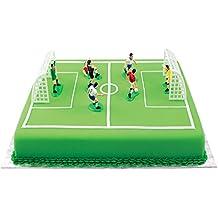 PME Adornos de fútbol para tartas y cupcakes, 9 unidades