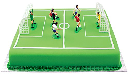 PME Football/Soccer Cake Topper Set 9pc