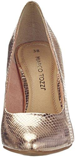 Marco Tozzi Damen 22415 Pumps Pink (ROSE MET.Stru. 537)