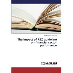 The impact of RBZ guideline on financial sector perfomance