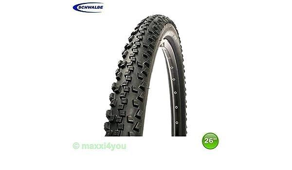 Schwalbe Reifen Black Jack KGuard HS 407 47-559 26 Zoll x 1,90 schwarz Fahrrad