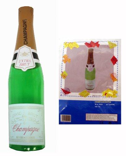 Giant 6Fuß aufblasbar Champagner Flasche Hochzeit Party Zubehör