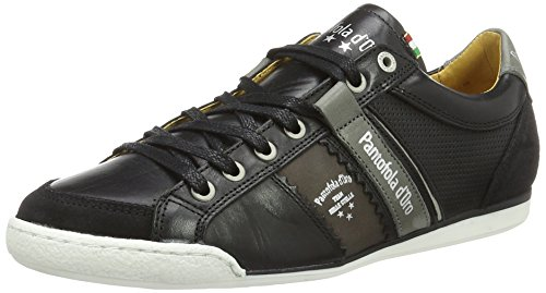 Pantofola d'Oro Savio Romagna Uomo Low, chaussons d'intérieur homme Schwarz (Black)