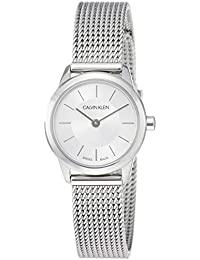 ad4c6c574f0b Calvin Klein Reloj Analógico de Cuarzo para Mujer con Correa de Acero  Inoxidable – K3M23126