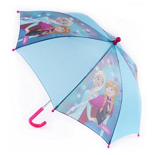 disney-parapluie la reine des neiges-bleu