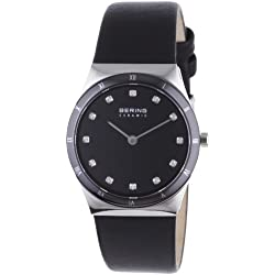 BERING Time Damen-Armbanduhr Slim Ceramic 32230-448