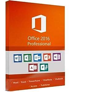 Microsoft Office 2016 Professional Plus ESD (elektronischer Software-Download) Vollversion, KEINE DVD / USB