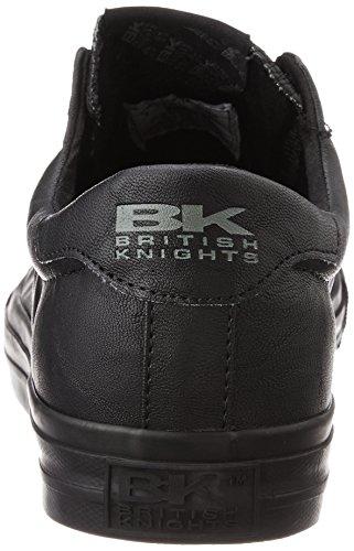 British Knights ACE UNISEX BASSA SNEAKERS Nero/Nero