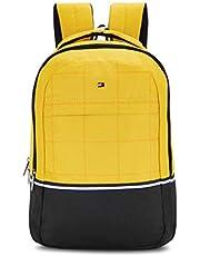 Tommy Hilfiger Atlas 22 Ltrs Yellow Laptop Backpack (TH/BIKOL14ATL)
