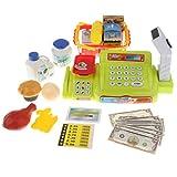 KESOTO Kunststoff Elektronische Registrierkasse / Supermarktkasse Spielzeug, Geschenk für Geburtstag