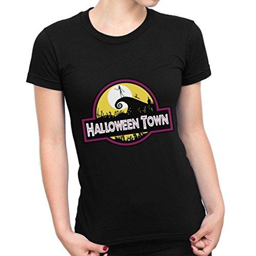 Halloween Town Nightmare Before Christmas Park Women's T-Shirt