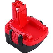 Reoben 12V 3000mAh Ni-MH Batería de Repuesto para Bosch BAT043 BAT045 BAT046 BAT049 BAT139 226123360 2607335274 2607335709 12V GSB 12VE-2 PSR