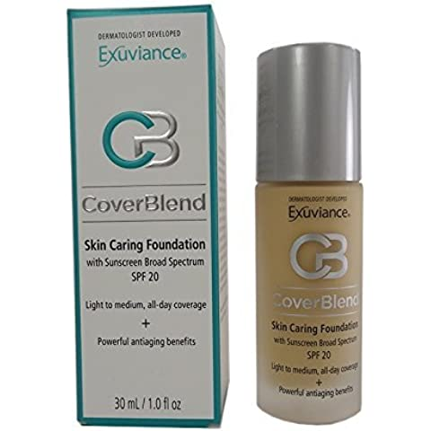Exuviance - CoverBlend Skin Caring Foundations SPF 20 Classic Beige by Exuviance