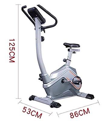 Indoor Cycling Fahrradtrainer Magnetic Resistance 2,6 Kg Schwungrad Cardio Workout Mit Multifunktionalem Monitor & Tablet Holder Rgürtelantrieb Adjustable Lenker & Seat Height Für Men/Women Grey
