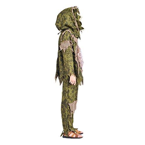 Imagen de per disfraz de halloween para niños ropa cosplay de fantasma del intestino grueso ropa conjunto con máscara m  alternativa