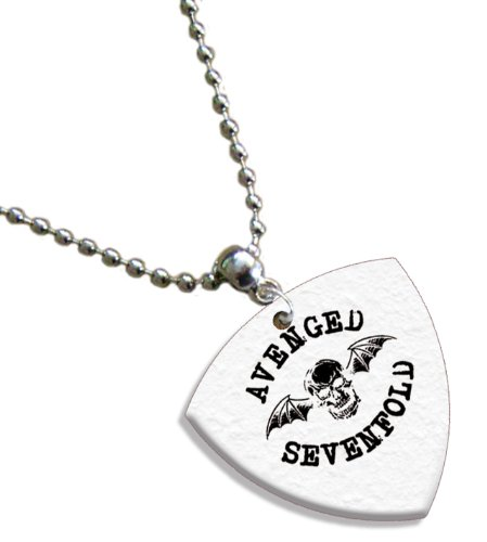 Avenged Sevenfold Bass (1mm Heavy gauge) Gitarre Pick Plektron Kette -