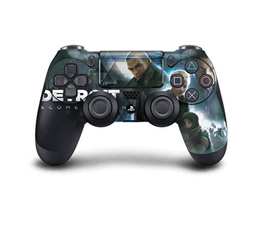 PS4 DualShock Wireless Controller Pro Konsole PlayStation4 Controller mit weichem Griff und exklusiver individueller Version Skin (PS4-Detroit Wird menschlich)