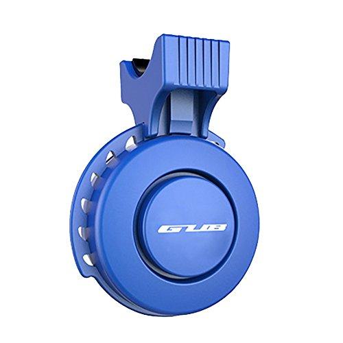 RUXI Fahrrad-Klingel USB Lade Reitausrüstung,Blue