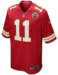 5ea53fbd726dc Nike Camiseta réplica de la Camiseta de la NFL Kansas City Chiefs Alex  Smith Juego