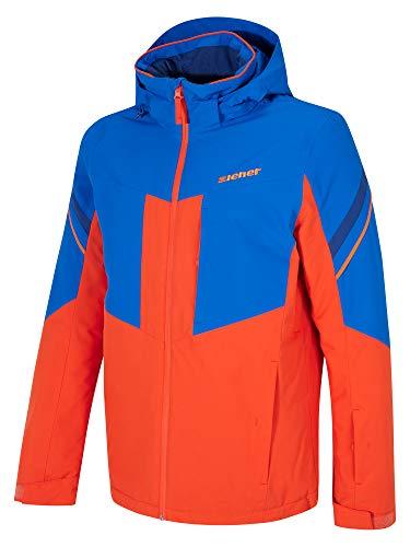 Ziener Herren POMOKA Man (Jacket Ski Snowboard-Jacke/Atmungsaktiv, Wasserdicht, New red, 58