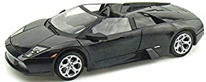 Motor MAX mm73169bk-Lamborghini Murcielago Roadster, vehículos, Negro