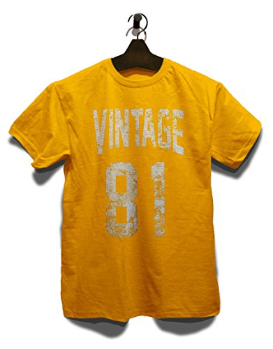 Vintage 1981 T-Shirt Gelb
