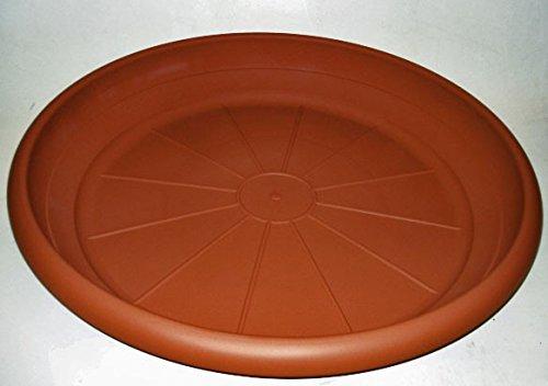 Untersetzer MONTANA / ROMANA rund 78 cm aus Kunststoff, Farbe:terracotta