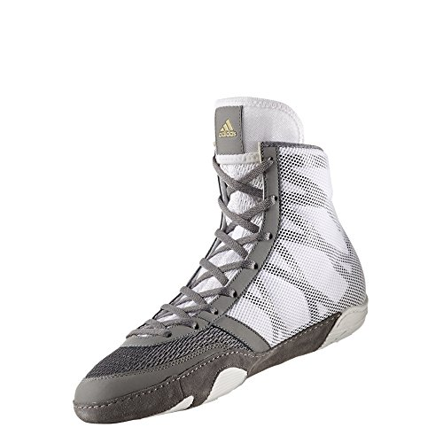 Adidas Pretereo III Wrestling Chaussures - Gris - Grey/Gold/White,