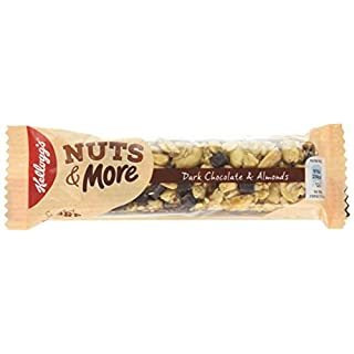 Kellogg's Nut's and More Bar, 45 g, Pack of 9