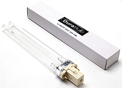 DuraBulb Replacement UV (Ultra Violet) Bulb Lamp for Pond UVC Filters & Clarifiers 5W 7W 9W 13W from DuraBulb®