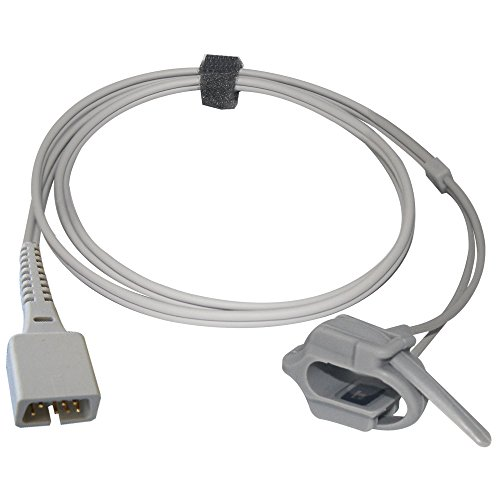 Sino-k Kompatibel für Nellcor Neugeborenen Wrap Spo2 Sensor Nicht-Oximax 3,2 ft 7 Pins Connector - Wrap-sensor