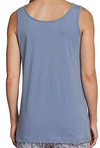 Schiesser Damen Trägertop, Shirt ohne Arm, Single Jersey S-XL - Farbauswahl Weiß