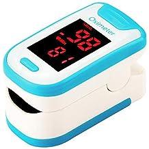 LXZSM Oxímetro De Pulso De, Pulsioxímetro De Dedo Y Monitor De Frecuencia Cardíaca con Pantalla