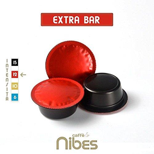 Caffè nibes 200 capsule cialde lavazza a modo mio compatibili mio intenso extra bar