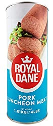 Royal Dane Pork Luncheon Meat - 1.81kg (4 Tins)