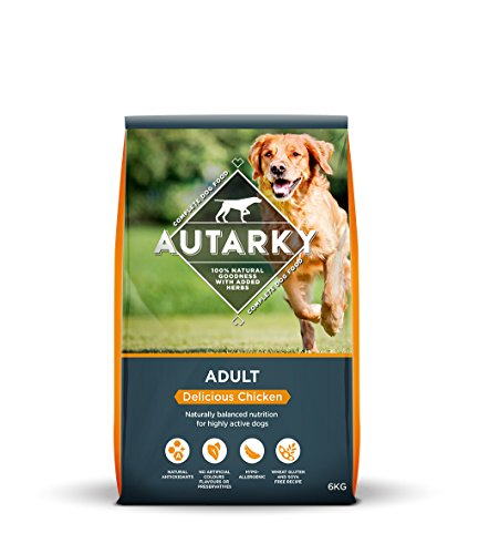 Autarky Hypoallergenic Delicious Chicken Dry Dog Food with Added Herbs, 6 g