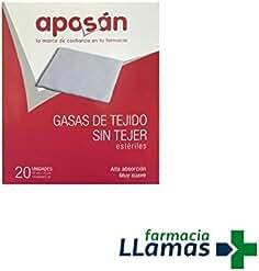 Aposán GASA DE TEJIDO SIN TEJER ESTERILES APOSAN 20 UNIDADES MUY SUAVES
