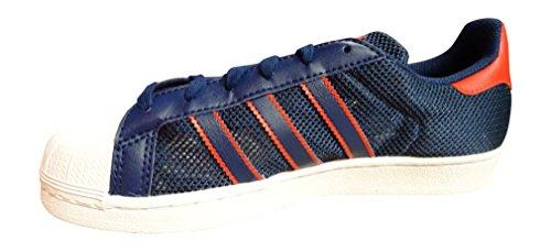 adidas Originals Superstar Schuhe Sneaker Turnschuhe Blau BB4876 blue red white BB5395
