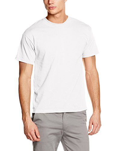 fruit-of-the-loom-ss022m-t-shirt-homme-blanc-large
