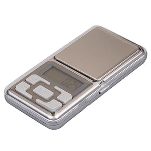 Luwu-Store 200G/0.01G Telefon Form Digital elektronische Tasche Mini Wiegen Präzisionswaage für Schmuck/Reloading/Küche Mini-digital-tasche