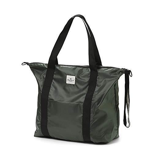 Elodie Details Soft Shell Wickeltasche für kleine Jungen und Mädchen, Accessoires für Mütter (Valley Green) - Bereich Kapuze Shell