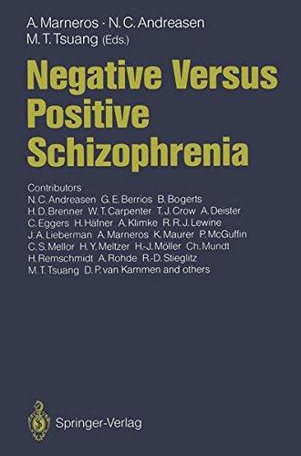 Cs-brenner (Negative Versus Positive Schizophrenia)