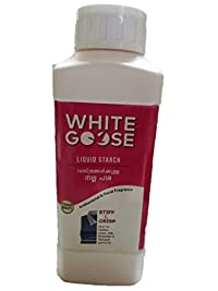 WHITE GOOSE Liquid Starch(Antibacterial and Floral Fragrance)(500ml)