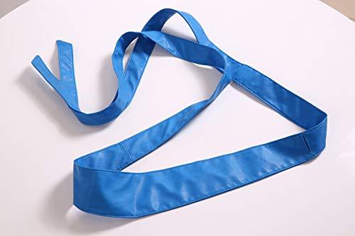 GNCBEFashion Slender Belt for Women Decorative Ribbon Black Belts Soft Leather Knot Wrap Around Waist No Belt Buckle Candy About 170Cm Royal Blue Blue Ribbon Candy