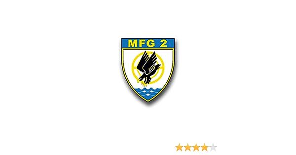 Aufkleber Sticker Mfg 2 Marinefliegergeschwader Marine Wappen Emblem 6x7cm A864 Auto
