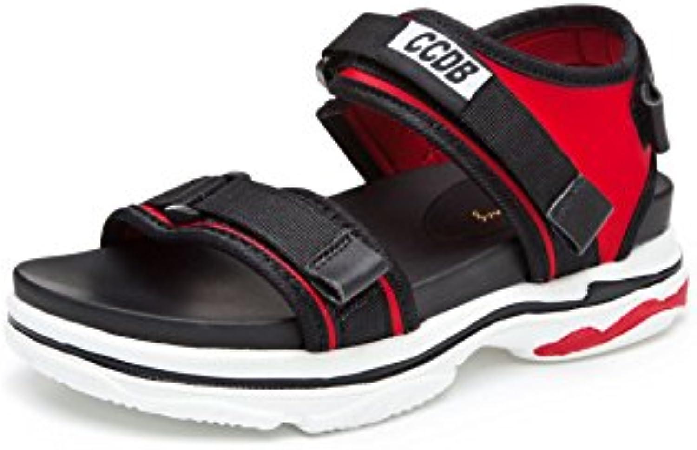 MEI&S Donna Informale Chunky Heel Peep Toe Toe Toe Sandali   Ad un prezzo inferiore  4c1733