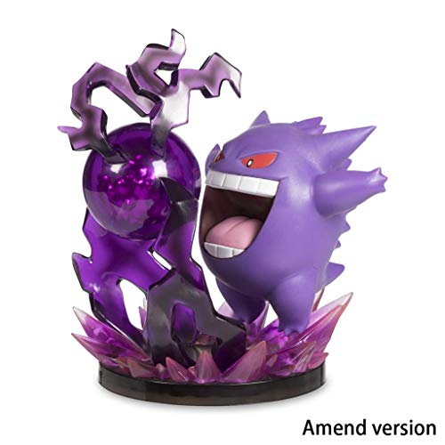 Imagen de lilongjiao pokémon gengar skill version nendoroid figura de acción pvc figura modelo juguetes