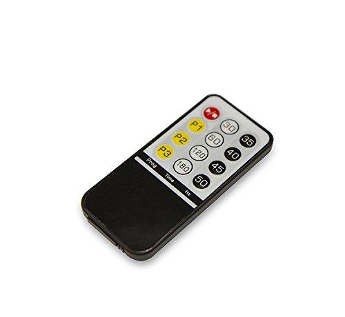 Tecnovita by BH VIBRO QUICK PRO YV14M Vibrationsplatte, Vibrationstrainer, 35 – 50 HZ, 3 Benutzerprogramme - 2