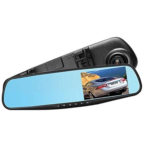 SJZC HD-Autokamera 1080P DVR-Armaturenbrett WDR-Kamera VCR-Kameras im Fahrzeug 170 ° Betrachtungswinkel LCD-Monitor Kreisförmige Aufnahme G-Sensor-Bewegungserkennung Z04 Ir-kamera-power-usb-dvr