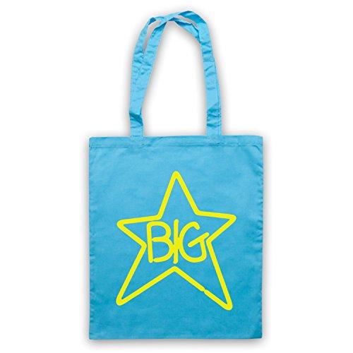 Inspiriert durch Big Star Logo Inoffiziell Umhangetaschen Hellblau